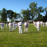 Karatebemutató - világbajnokokkal